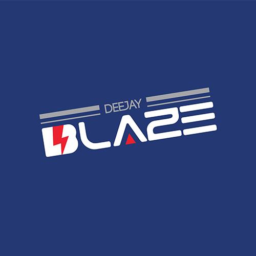logo dizajn za dj blaze budva, crna gora